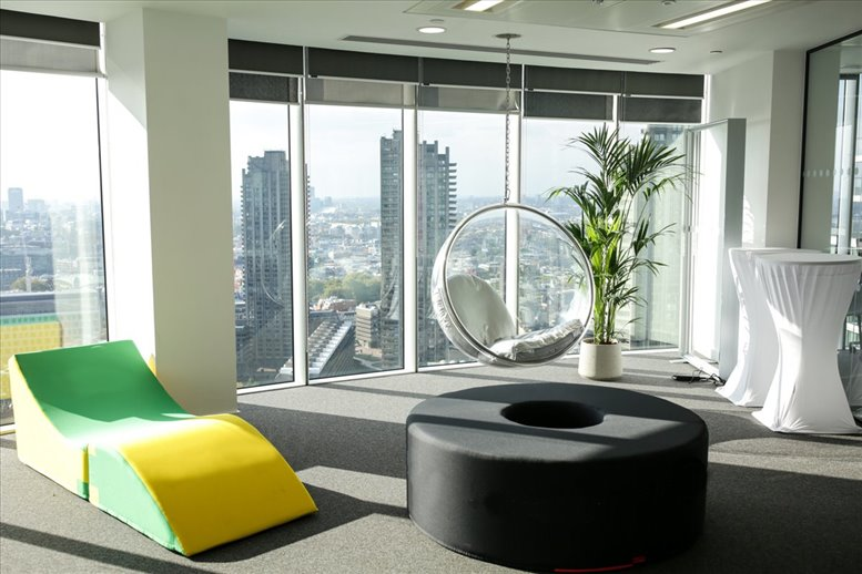 Picture of Citypoint, 1 Ropemaker Street Office Space for available in Moorgate