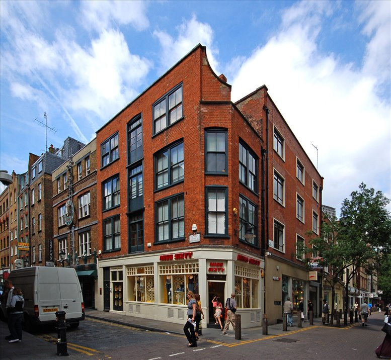 39-45 Neal Street, London available for companies in Covent Garden