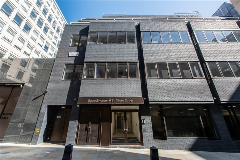 Samuel House, 6 St Alban's Street, St James's Office Space West End