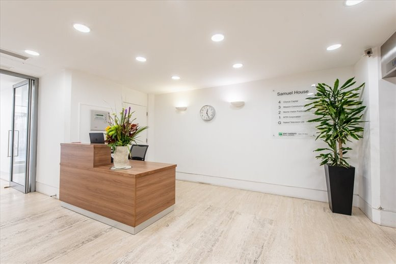 Photo of Office Space on Samuel House, 6 St Alban's Street, St James's West End