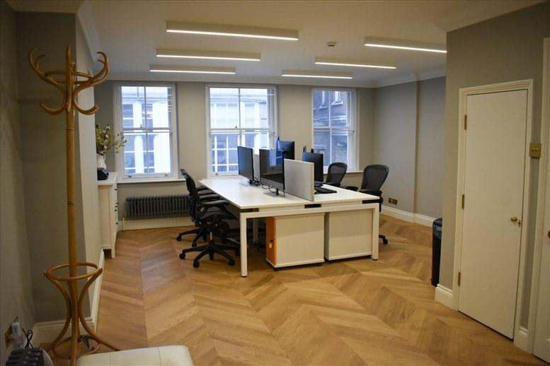 Soho Office Space for Rent on 8a Kingly Street