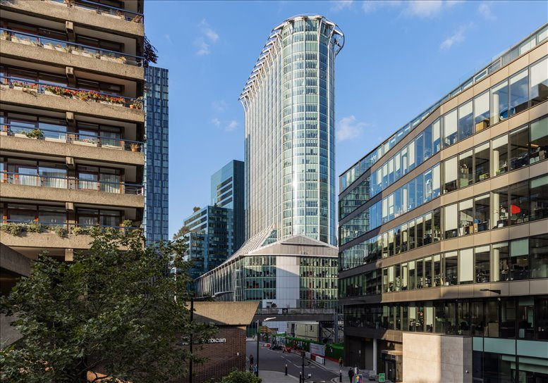 CityPoint, 1 Ropemaker Street, The City Office Space Moorgate
