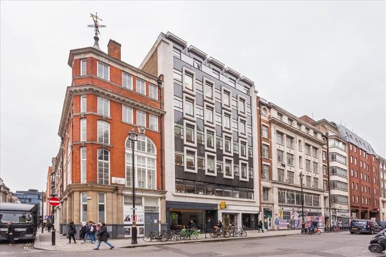 58-59 Great Marlborough Street, London Office Space Soho