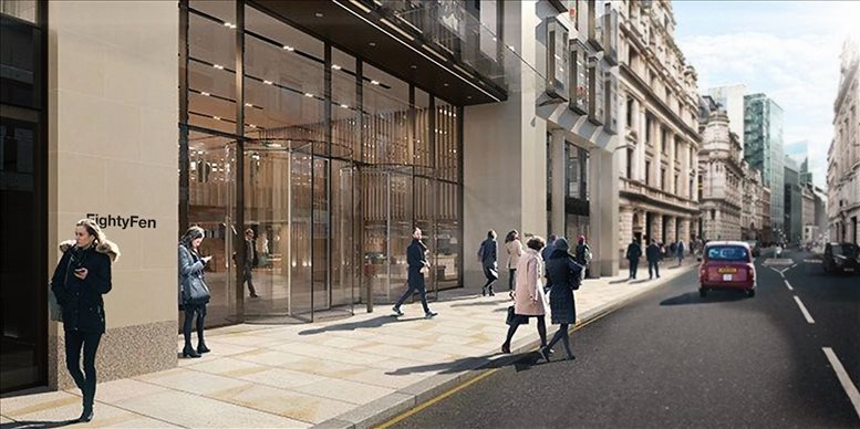 80 Fenchurch Street, London, Financial District available for companies in Fenchurch Street
