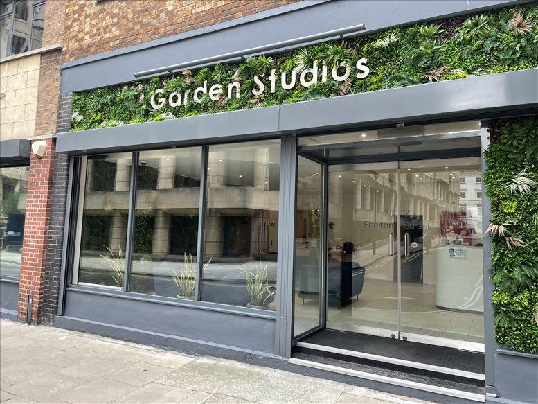 Garden Studios, 71-75 Shelton Street available for companies in Holborn