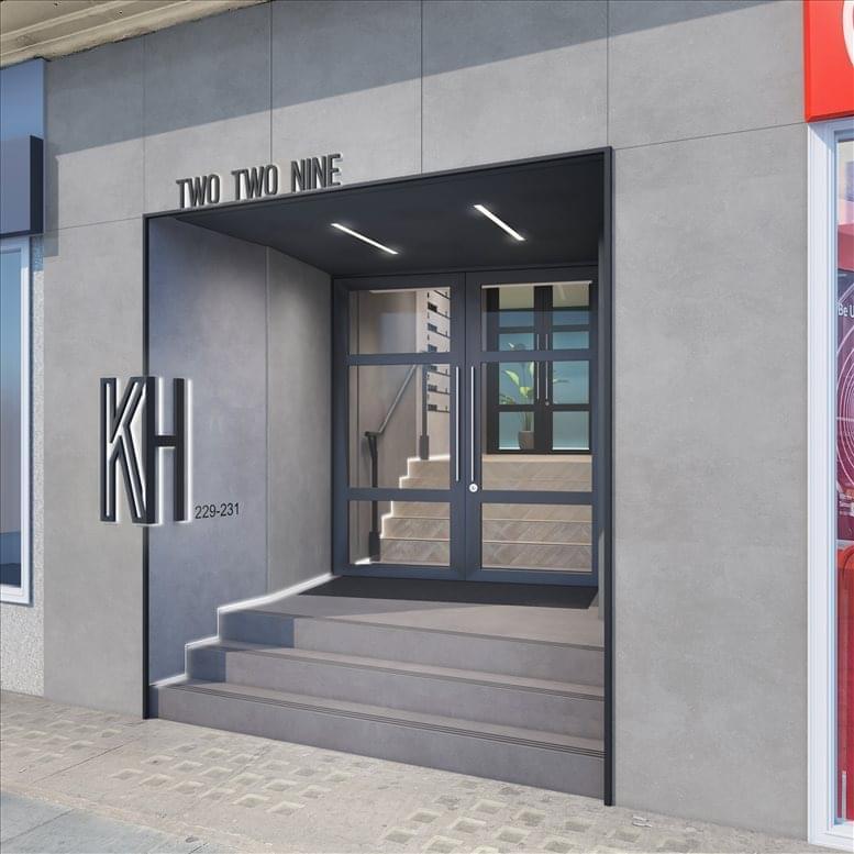 Holborn Office Space for Rent on Kingsbourne House, 229-231 High Holborn