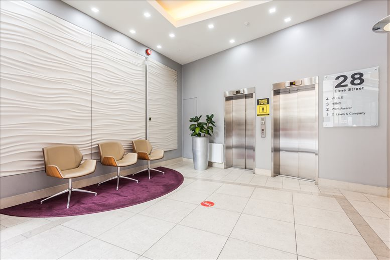 Picture of 28 Lime Street, Bank Office Space for available in Fenchurch Street