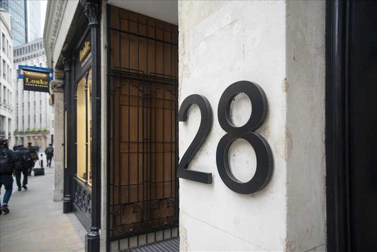 Office for Rent on 28 Lime Street, Bank Fenchurch Street