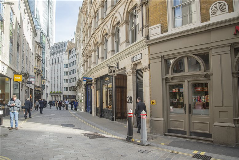 Image of Offices available in Fenchurch Street: 28 Lime Street, Bank