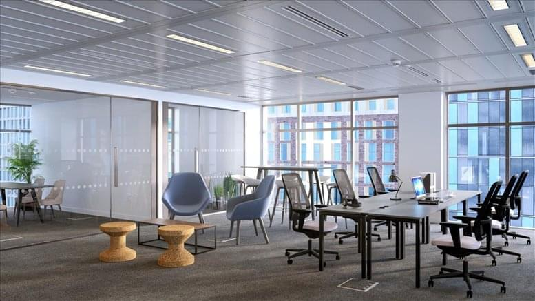 5 Fleet Place Office Space St Pauls