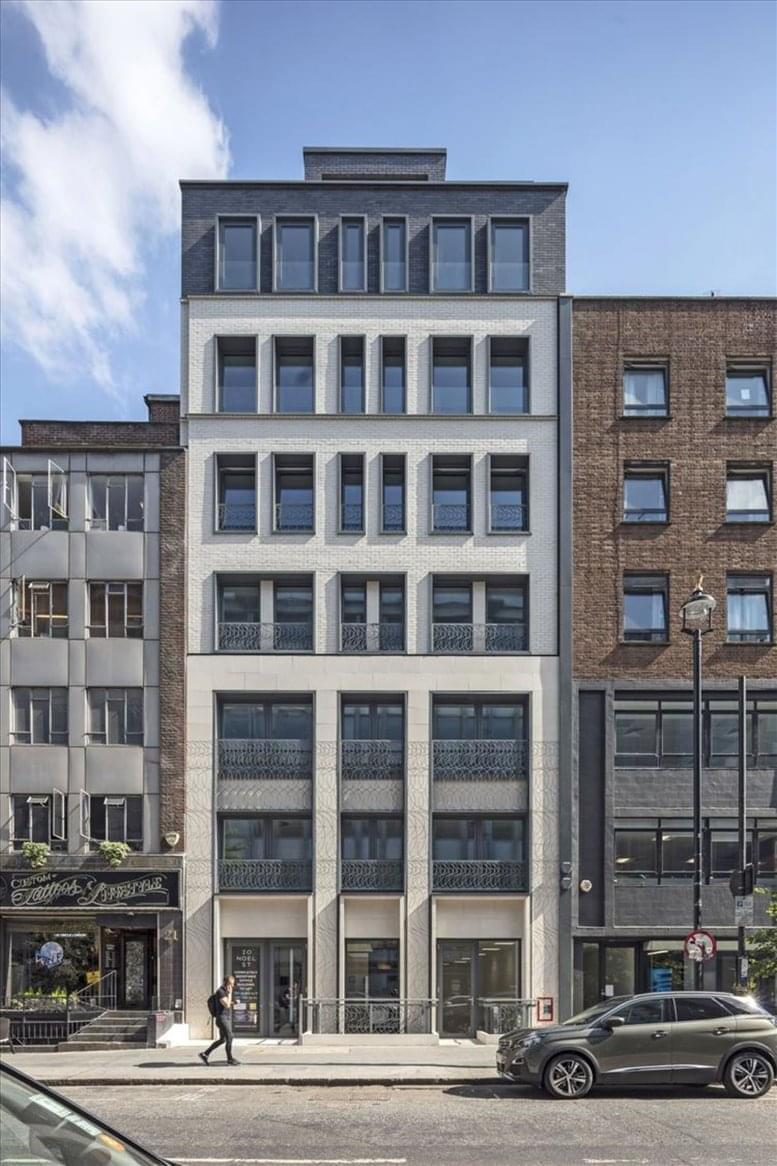 20 Noel Street available for companies in Soho