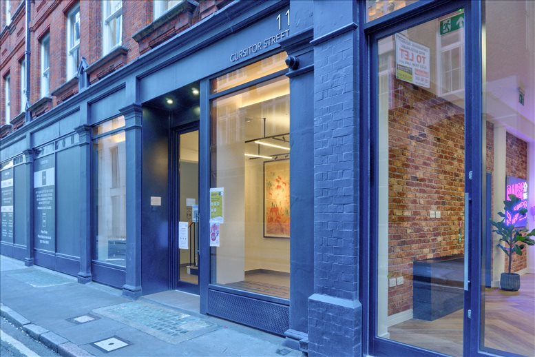 Photo of Office Space available to rent on 11 Cursitor Street, Holborn, Chancery Lane