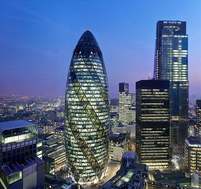 Photo of Office Space on 30 St Mary Axe - EC3A