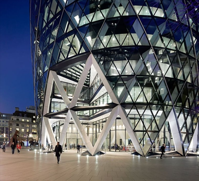 Photo of Office Space on 30 St Mary Axe Bishopsgate