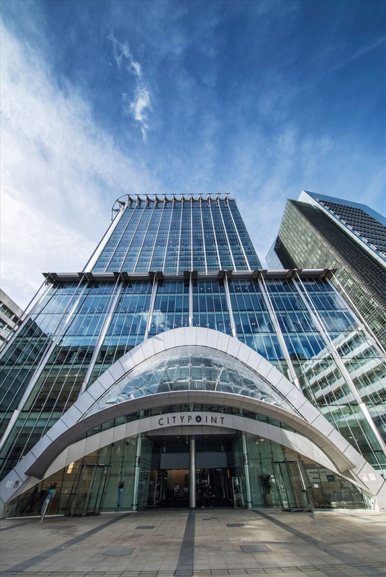 1 Ropemaker Street available for companies in Moorgate
