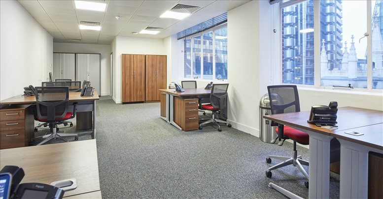 Bank Office Space for Rent on 107 Leadenhall Street