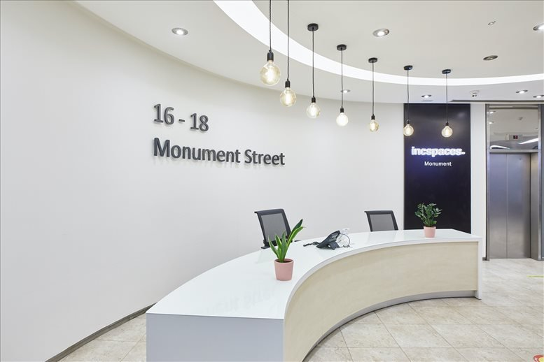 Monument Office Space for Rent on Floors 1-5, 16-18 Monument Street