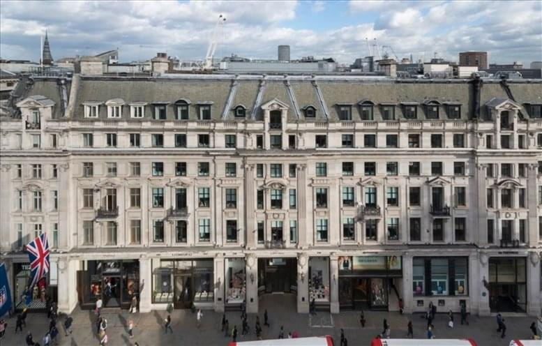 25 Argyll Street, Soho available for companies in Oxford Circus