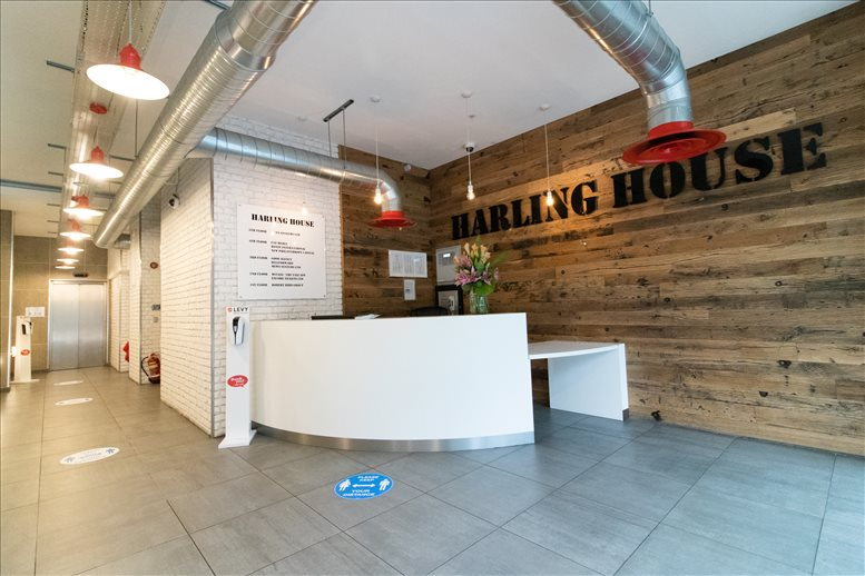 Image of Offices available in Southwark: Harling House, 51 Great Suffolk Street