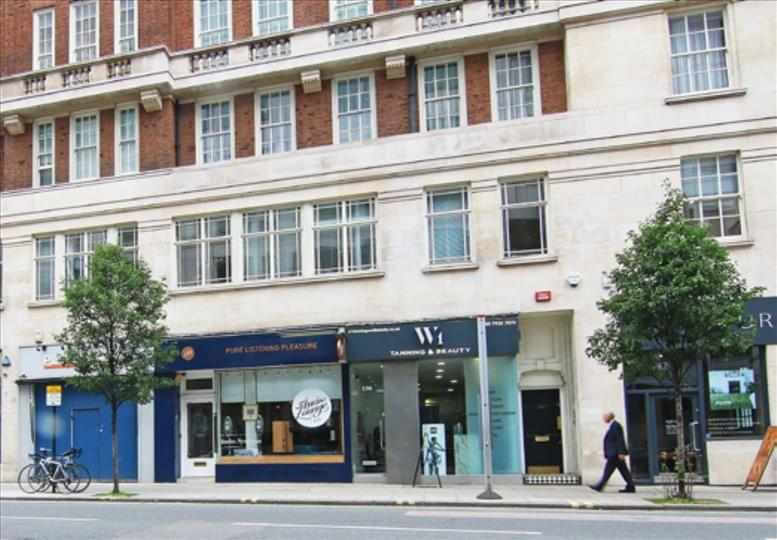 134 Wigmore St, Marylebone Office Space Marble Arch