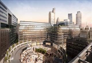 Photo of Office Space on 100 Liverpool Street, Broadgate - Liverpool Street