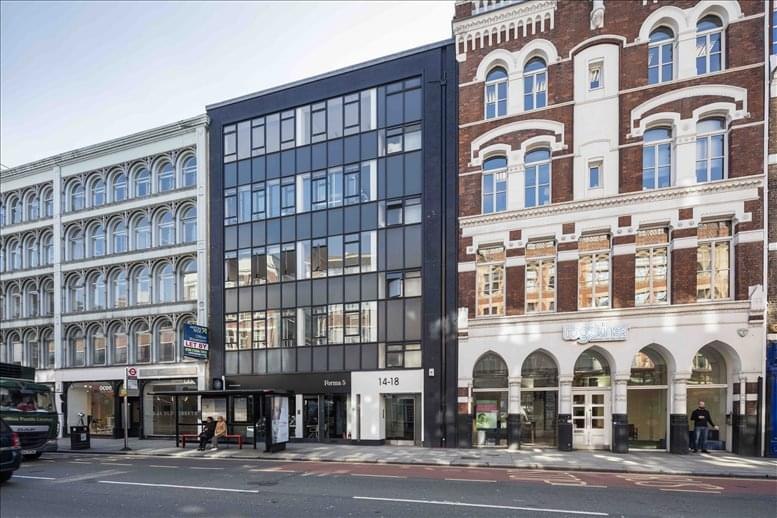 14-18 Old St, London available for companies in Aldersgate