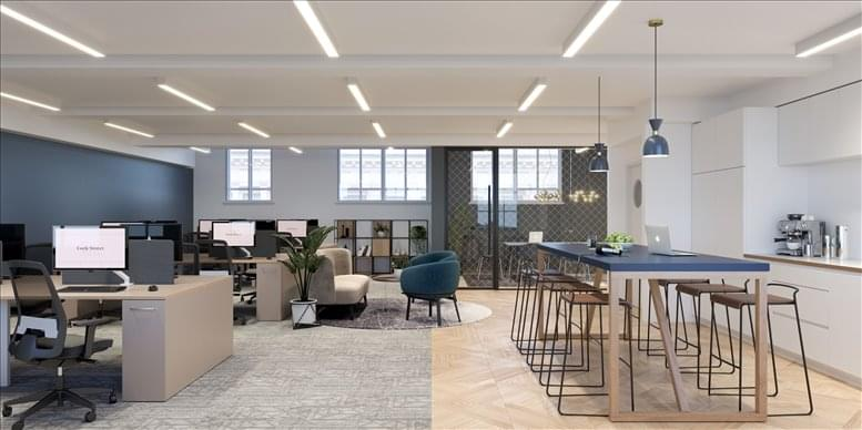 21 Cork Street Office for Rent Piccadilly Circus