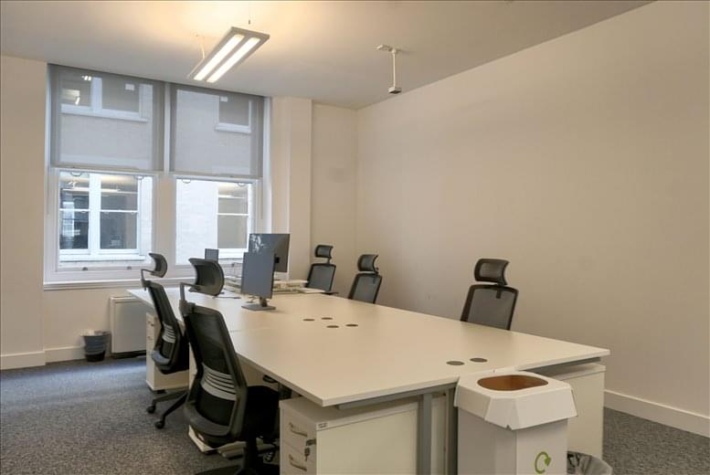 Moorgate Office Space for Rent on London Wall