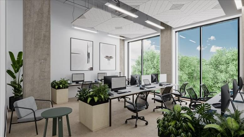 Chiswick Works, Bollo Lane, 100 Bollo Lane Office for Rent Chiswick Park