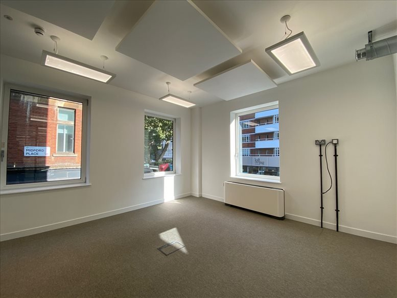 Rent Bloomsbury Office Space on 10 Midford Place, Bloomsbury