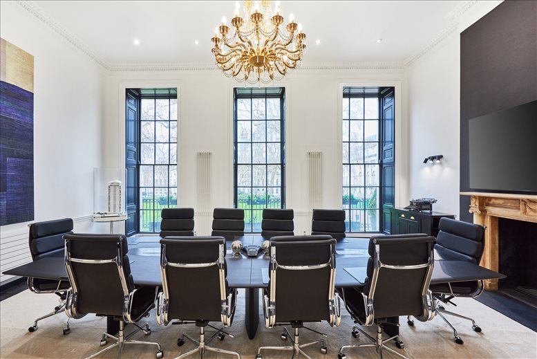 Rent Fitzrovia Office Space on 39 Fitzroy Square