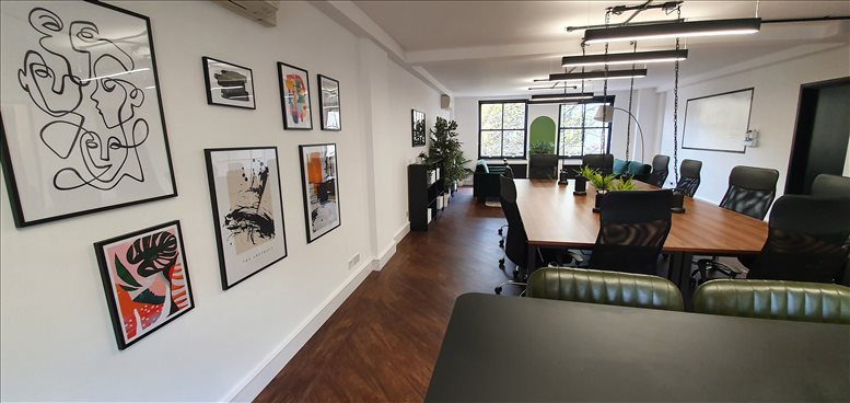 Office for Rent on 8 Coldbath Square Finsbury