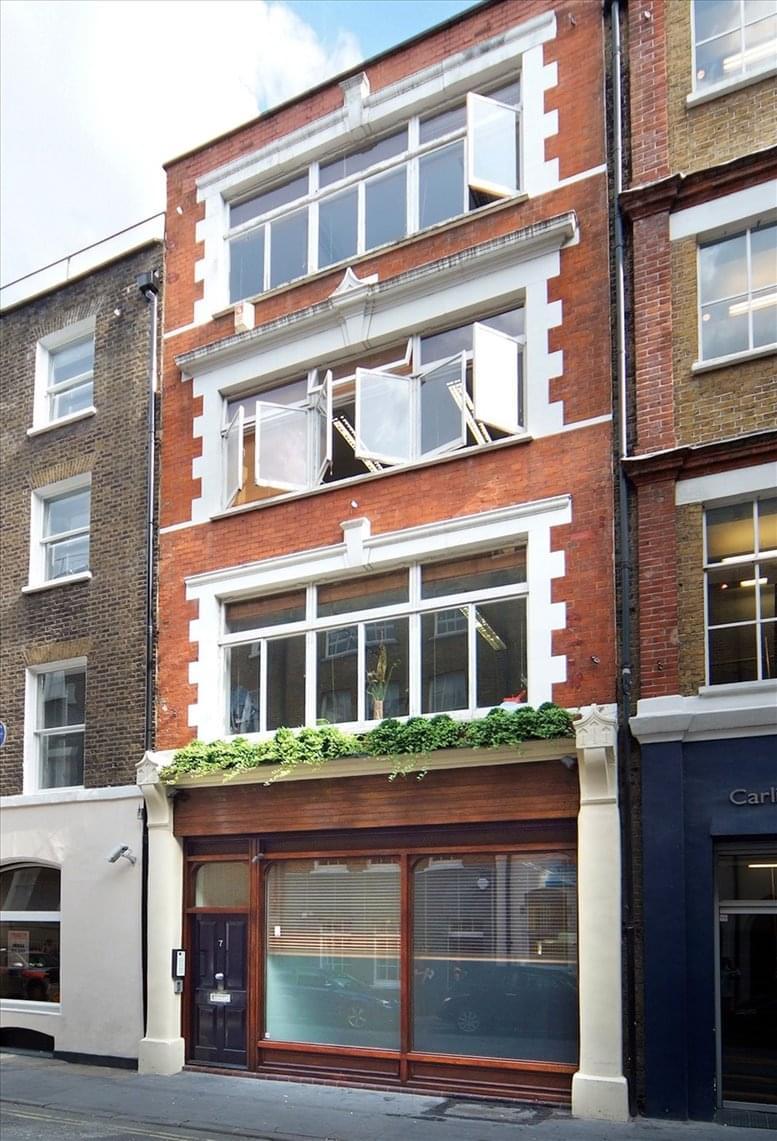 7 Carlisle Street, Soho Office Space Soho