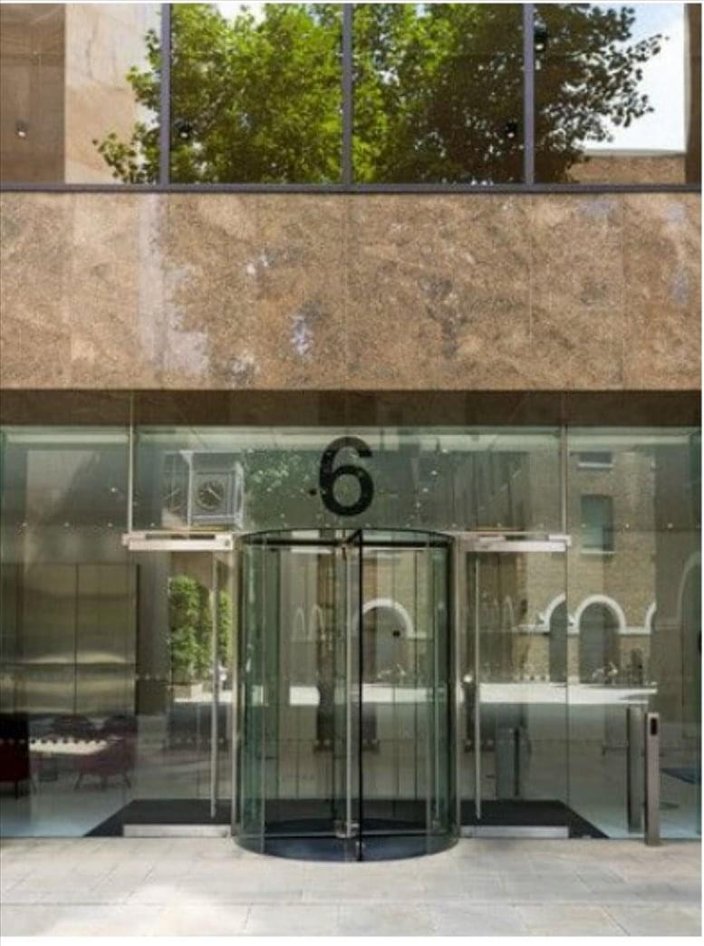 6 Devonshire Square Office Space Bishopsgate