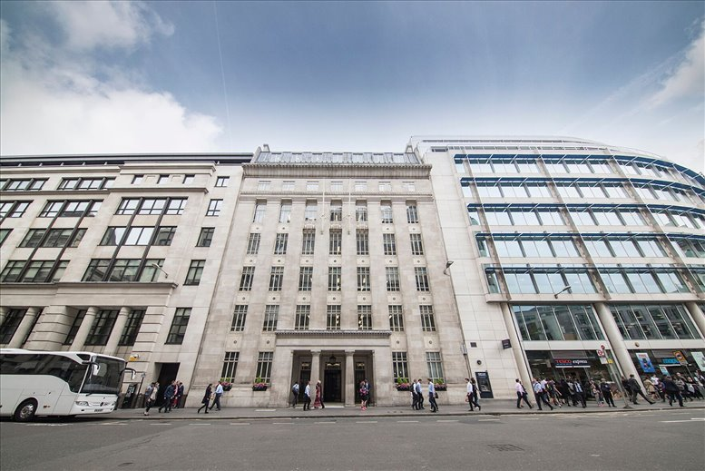 Photo of Office Space available to rent on St Martin's House, 16 St Martin's Le Grand, St Pauls