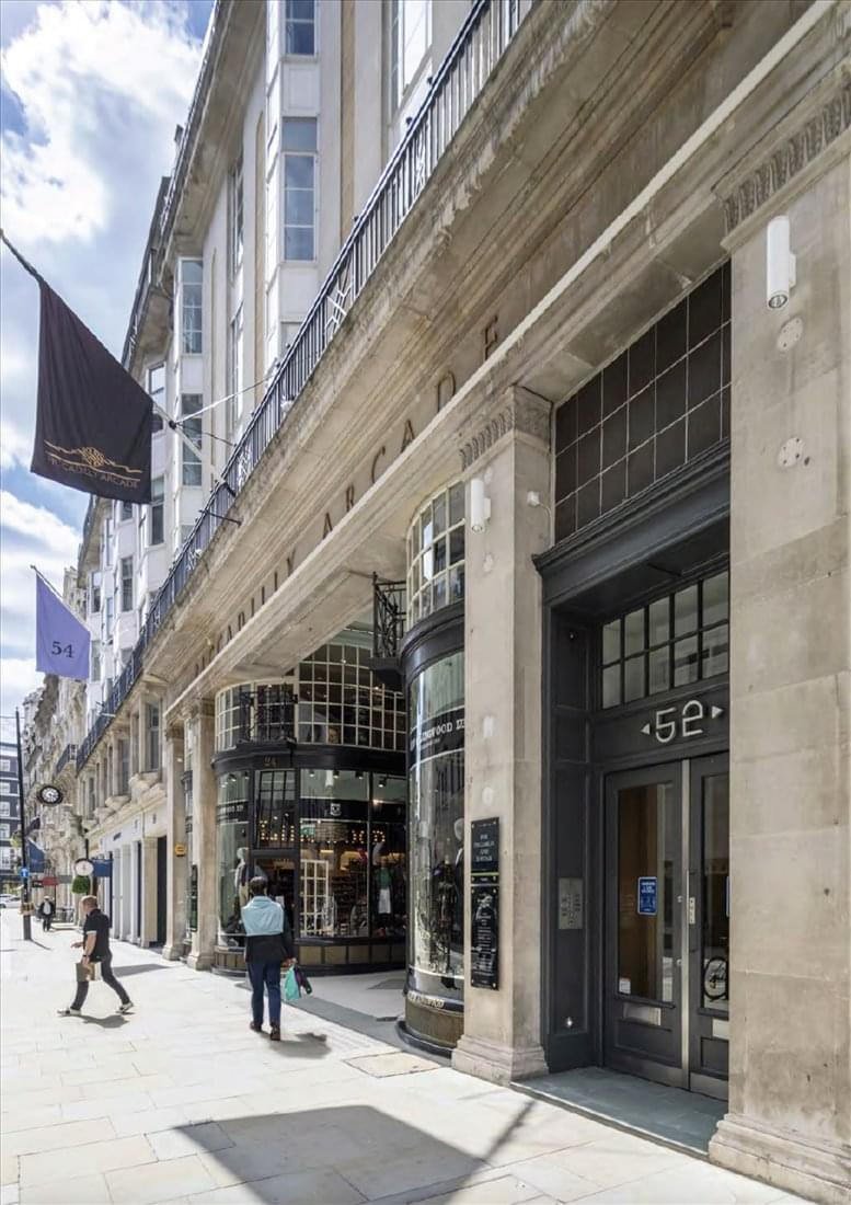 53 Jermyn Street, St James's Office Space Piccadilly Circus