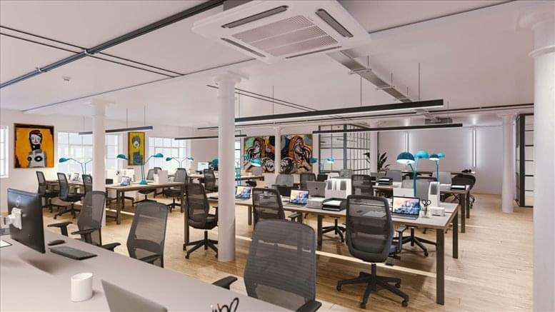 Photo of Office Space on Woolyard @ 52-56 Bermondsey Street Bermondsey
