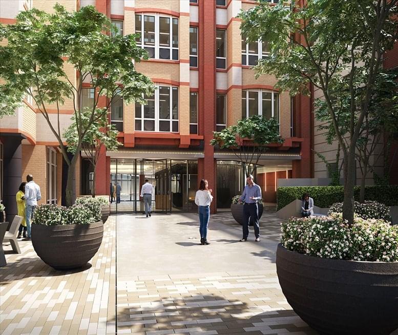 Fetter Yard, 86 Fetter Ln available for companies in Fleet Street