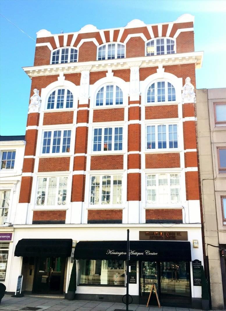 Vicarage House, 58-60 Kensington Church Street Office for Rent Kensington