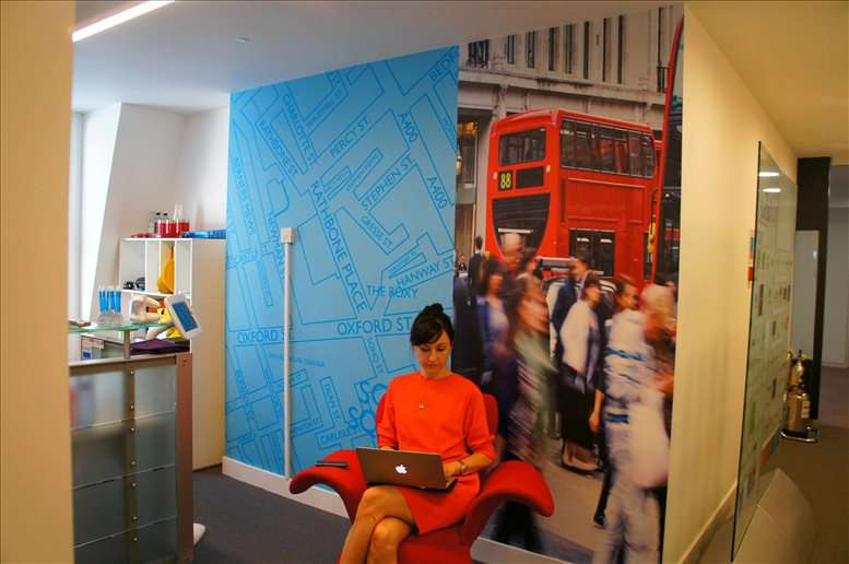 Photo of Office Space on Holden House, 57 Rathbone Place, Soho - W1T