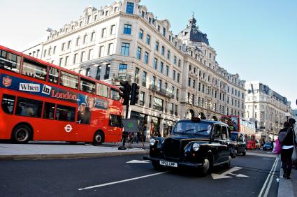 London's Regent Street @officeinlondon