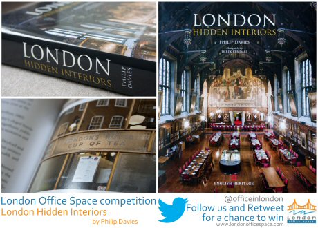 LOS competition - win London Hidden Interiors by following @officeinlondon