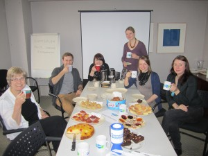 Office tea party in aid of Dementia UK