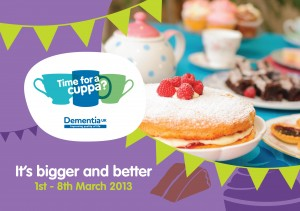 Time for a Cuppa March 1-8 2013