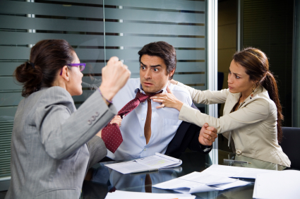 How to Deal with Office Arguments LondonOfficeSpace.com @officeinlondon
