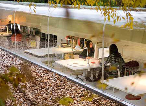 Office In London Office Interiors Inspired By Nature