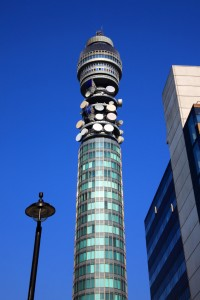London Telecom Tower in the City of London @officeinlondon