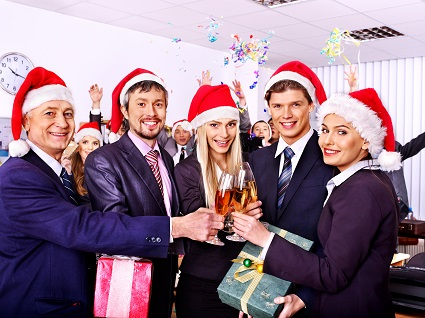Company Christmas Parties: How To Make Sure Your Office Christmas Party is Tax Deductible from LondonOfficeSpace.com